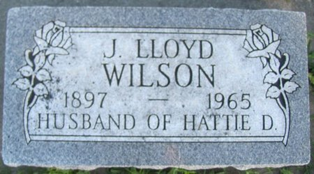 WILSON, J. LLOYD - Saunders County, Nebraska | J. LLOYD WILSON - Nebraska Gravestone Photos