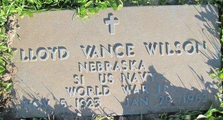 WILSON, LLOYD VANCE - Saunders County, Nebraska | LLOYD VANCE WILSON - Nebraska Gravestone Photos