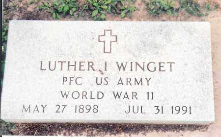 WINGET, LUTHER - Saunders County, Nebraska   LUTHER WINGET - Nebraska Gravestone Photos