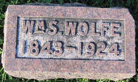 WOLFE, WILLIAM S. - Saunders County, Nebraska | WILLIAM S. WOLFE - Nebraska Gravestone Photos