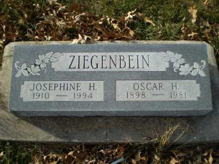 ZIEGENBEIN, OSCAR H - Saunders County, Nebraska | OSCAR H ZIEGENBEIN - Nebraska Gravestone Photos