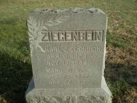 ZIEGENBEIN, KARL - Saunders County, Nebraska   KARL ZIEGENBEIN - Nebraska Gravestone Photos