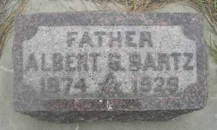BARTZ, ALBERT G. - Scotts Bluff County, Nebraska | ALBERT G. BARTZ - Nebraska Gravestone Photos