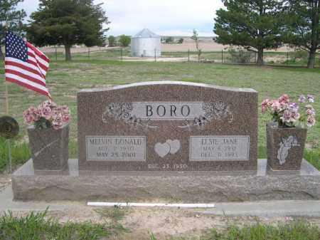 BORO, MELVIN DONALD - Scotts Bluff County, Nebraska | MELVIN DONALD BORO - Nebraska Gravestone Photos