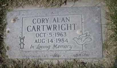 CARTWRIGHT, CORY ALAN - Scotts Bluff County, Nebraska | CORY ALAN CARTWRIGHT - Nebraska Gravestone Photos