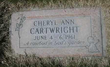 CARTWRIGHT, CHERYL ANN - Scotts Bluff County, Nebraska   CHERYL ANN CARTWRIGHT - Nebraska Gravestone Photos