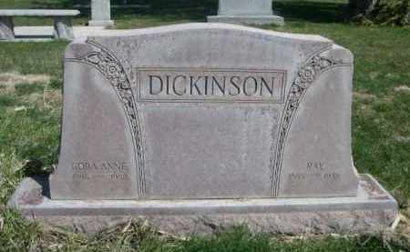 DICKINSON, CORA ANNE - Scotts Bluff County, Nebraska | CORA ANNE DICKINSON - Nebraska Gravestone Photos