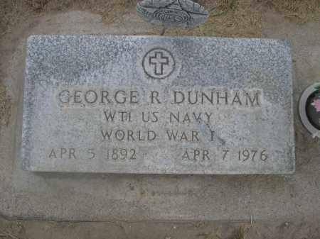 DUNHAM, GEORGE R. - Scotts Bluff County, Nebraska | GEORGE R. DUNHAM - Nebraska Gravestone Photos