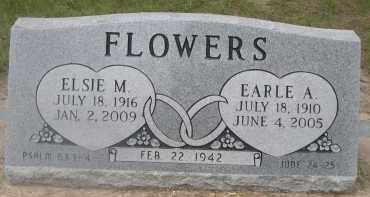 FLOWERS, EARLE A. - Scotts Bluff County, Nebraska | EARLE A. FLOWERS - Nebraska Gravestone Photos