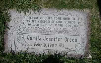 GREEN, GAMILA JENNIFER - Scotts Bluff County, Nebraska | GAMILA JENNIFER GREEN - Nebraska Gravestone Photos