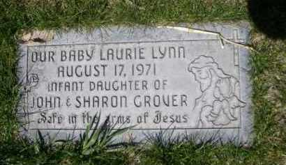 GROVER, LAURIE LYNN - Scotts Bluff County, Nebraska | LAURIE LYNN GROVER - Nebraska Gravestone Photos