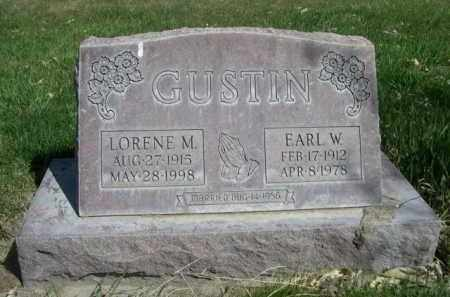 GUSTIN, LORENE M. - Scotts Bluff County, Nebraska | LORENE M. GUSTIN - Nebraska Gravestone Photos