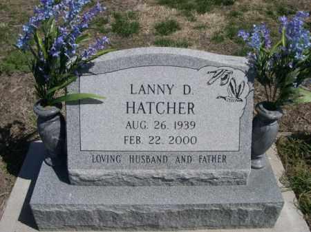 HATCHER, LANNY D. - Scotts Bluff County, Nebraska | LANNY D. HATCHER - Nebraska Gravestone Photos