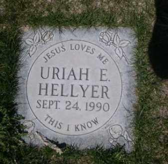 HELLYER, URIAH E. - Scotts Bluff County, Nebraska | URIAH E. HELLYER - Nebraska Gravestone Photos