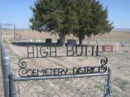 *HIGH BUTTE CEMETERY, GATE FOR WALK IN ENTRANCE. - Scotts Bluff County, Nebraska | GATE FOR WALK IN ENTRANCE. *HIGH BUTTE CEMETERY - Nebraska Gravestone Photos