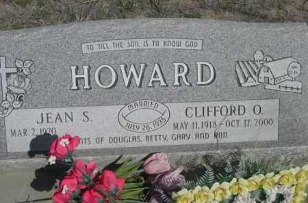 HOWARD CLIFFORD O.,  - Scotts Bluff County, Nebraska |  HOWARD CLIFFORD O. - Nebraska Gravestone Photos