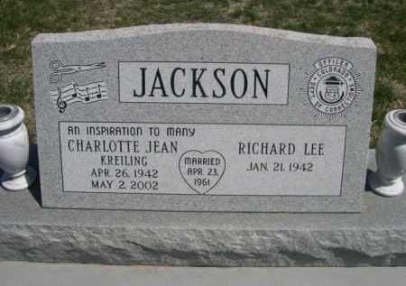 JACKSON, CHARLOTTE JEAN - Scotts Bluff County, Nebraska | CHARLOTTE JEAN JACKSON - Nebraska Gravestone Photos