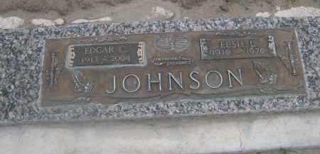 JOHNSON, ELSIE L. - Scotts Bluff County, Nebraska | ELSIE L. JOHNSON - Nebraska Gravestone Photos