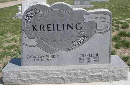 KREILING, CHARLES H. - Scotts Bluff County, Nebraska | CHARLES H. KREILING - Nebraska Gravestone Photos