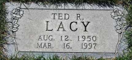 LACY, TED RAY - Scotts Bluff County, Nebraska   TED RAY LACY - Nebraska Gravestone Photos