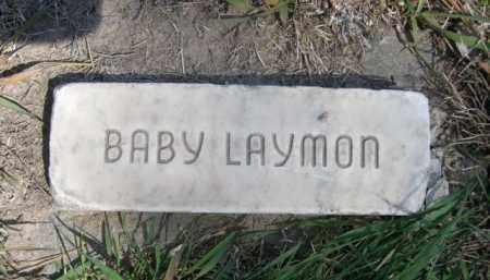 LAYMON, BABY - Scotts Bluff County, Nebraska | BABY LAYMON - Nebraska Gravestone Photos