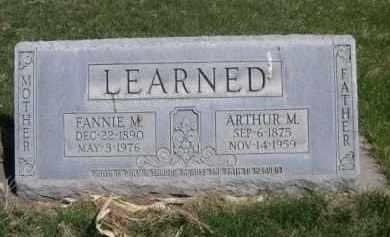 LEARNED, ARTHUR M. - Scotts Bluff County, Nebraska | ARTHUR M. LEARNED - Nebraska Gravestone Photos