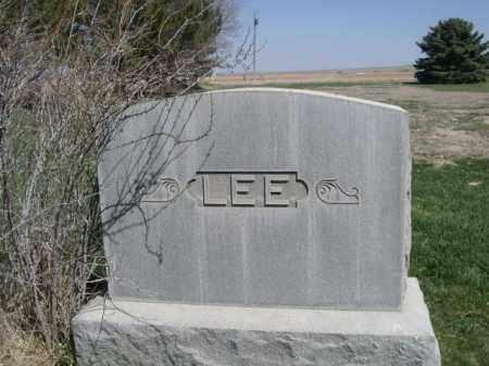 LEE, FAMILY - Scotts Bluff County, Nebraska | FAMILY LEE - Nebraska Gravestone Photos