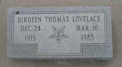 LOVELACE, BIRDEEN - Scotts Bluff County, Nebraska | BIRDEEN LOVELACE - Nebraska Gravestone Photos