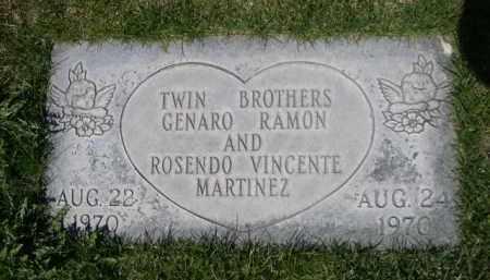 MARTINEZ, GENARO RAMON - Scotts Bluff County, Nebraska | GENARO RAMON MARTINEZ - Nebraska Gravestone Photos