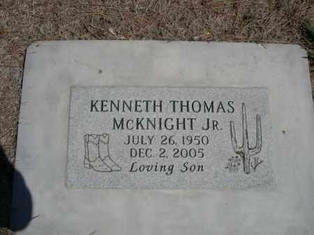 MCKNIGHT, KENNETH THOMAS - Scotts Bluff County, Nebraska | KENNETH THOMAS MCKNIGHT - Nebraska Gravestone Photos