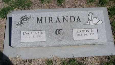 MIRANDA, EVA (LAZO) - Scotts Bluff County, Nebraska | EVA (LAZO) MIRANDA - Nebraska Gravestone Photos