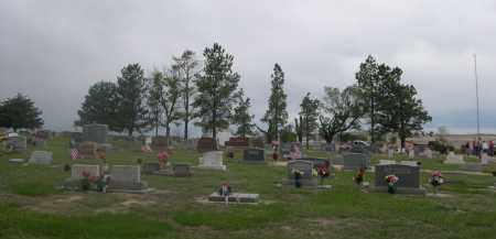 *MITCHELL VALLEY CEMETERY, VIEW OF - Scotts Bluff County, Nebraska | VIEW OF *MITCHELL VALLEY CEMETERY - Nebraska Gravestone Photos