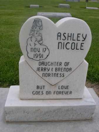 NORTNESS, ASHLEY NICOLE - Scotts Bluff County, Nebraska   ASHLEY NICOLE NORTNESS - Nebraska Gravestone Photos