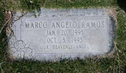 RAMOS, MARCO ANGELO - Scotts Bluff County, Nebraska | MARCO ANGELO RAMOS - Nebraska Gravestone Photos