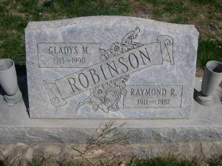 ROBINSON, GLADYS M. - Scotts Bluff County, Nebraska | GLADYS M. ROBINSON - Nebraska Gravestone Photos