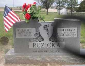 RUZICKA, PATRICIA A. - Scotts Bluff County, Nebraska | PATRICIA A. RUZICKA - Nebraska Gravestone Photos