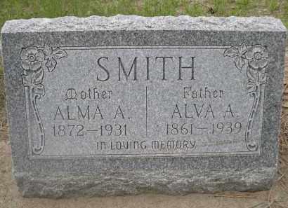 SMITH, ALMA A. - Scotts Bluff County, Nebraska | ALMA A. SMITH - Nebraska Gravestone Photos
