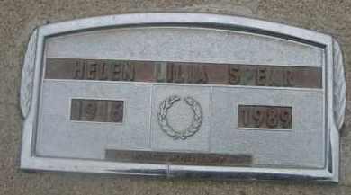 SPEAR, HELEN LILIA - Scotts Bluff County, Nebraska | HELEN LILIA SPEAR - Nebraska Gravestone Photos