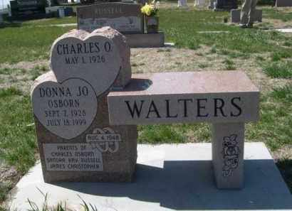 WALTERS, DONNA JO - Scotts Bluff County, Nebraska | DONNA JO WALTERS - Nebraska Gravestone Photos