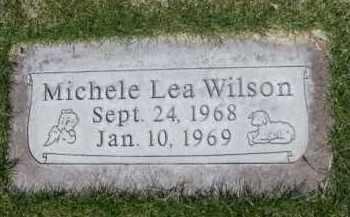 WILSON, MICHELE LEA - Scotts Bluff County, Nebraska | MICHELE LEA WILSON - Nebraska Gravestone Photos