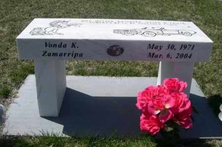 ZAMARRIPA, VONDA K. - Scotts Bluff County, Nebraska | VONDA K. ZAMARRIPA - Nebraska Gravestone Photos