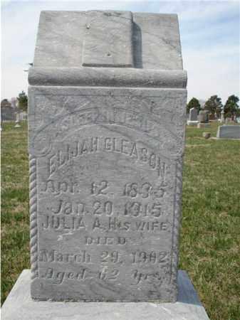GLEASON, JULIA A. - Seward County, Nebraska | JULIA A. GLEASON - Nebraska Gravestone Photos