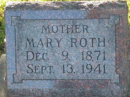 ROTH, MARY - Seward County, Nebraska | MARY ROTH - Nebraska Gravestone Photos
