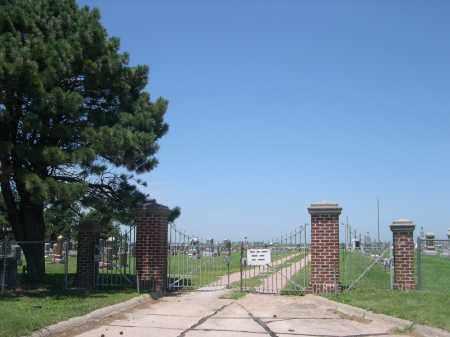 *UTICA CEMETERY, ENTRANCE - Seward County, Nebraska | ENTRANCE *UTICA CEMETERY - Nebraska Gravestone Photos
