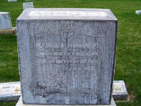HARRISON ABBOTT, ALCINDA A. - Sheridan County, Nebraska | ALCINDA A. HARRISON ABBOTT - Nebraska Gravestone Photos