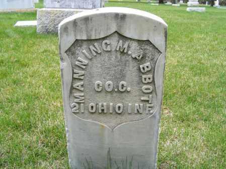 ABBOTT, MANNING M. - Sheridan County, Nebraska | MANNING M. ABBOTT - Nebraska Gravestone Photos