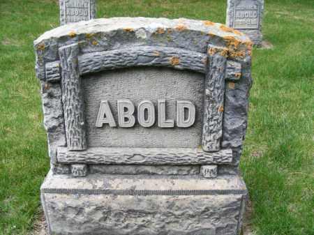 ABOLD, FAMILY STONE - Sheridan County, Nebraska   FAMILY STONE ABOLD - Nebraska Gravestone Photos