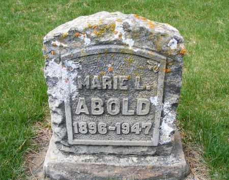 ABOLD, MARIE LOUISE - Sheridan County, Nebraska | MARIE LOUISE ABOLD - Nebraska Gravestone Photos