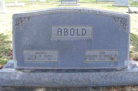 ABOLD, WILLIAM A. JR. - Sheridan County, Nebraska | WILLIAM A. JR. ABOLD - Nebraska Gravestone Photos