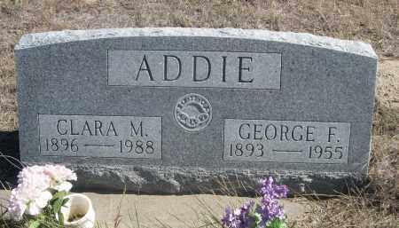 ADDIE, CLARA M. - Sheridan County, Nebraska | CLARA M. ADDIE - Nebraska Gravestone Photos